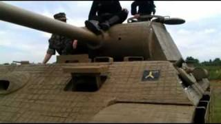 getlinkyoutube.com-Polish tank 7 TP and Panther replica