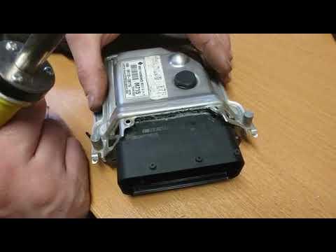 Ремонт блока управления двигателем Hyundai Solaris Kia Rio