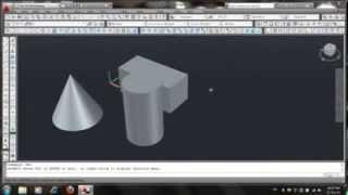 الدرس الاول من تعليم اوتوكاد autocad 3D