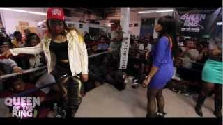 getlinkyoutube.com-BABS BUNNY & VAGUE presents QUEEN OF THE RING 40 B.A.R.R.S vs PHARA FUNERAL