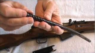 getlinkyoutube.com-SKS Rifle Strip & Assemble
