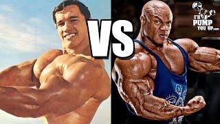 "getlinkyoutube.com-Mr. Olympia Phil Heath says Arnold Schwarzenegger had ""No Legs"""