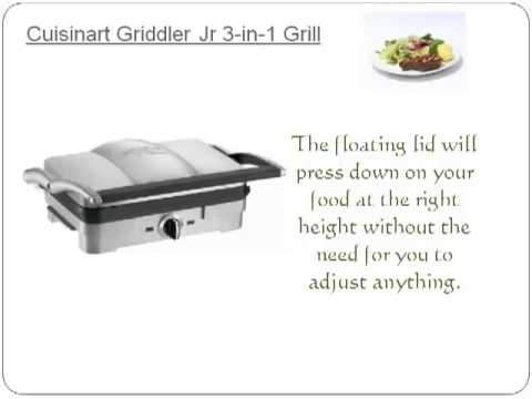 cuisinart 5 in 1 griddler manual