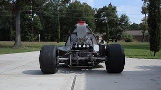 getlinkyoutube.com-Go Kart powered by KZ650 motorcycle engine