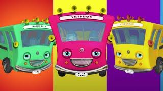 getlinkyoutube.com-Ten Little Buses | Nursery Rhymes Collection | Videogyan 3D Rhymes & Kids Songs