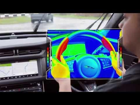 Jaguar Land Rover представила сенсорный руль