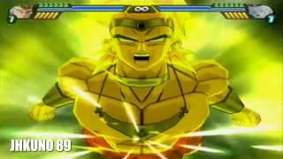 getlinkyoutube.com-All transformations and attacks of Broly | Dragon Ball Z Budokai Tenkaichi 3