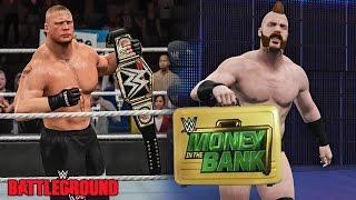 getlinkyoutube.com-WWE Battleground 2015 - Brock Lesnar Wins WWE Title & Sheamus Cashes Money in The Bank!