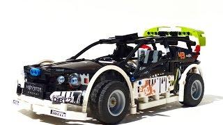 getlinkyoutube.com-LEGO Gymkhana 1: Ken Block's Ford Fiesta || Drift