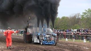 getlinkyoutube.com-Slædehunden 4500kg Modified - 1st DM Tractor Pulling