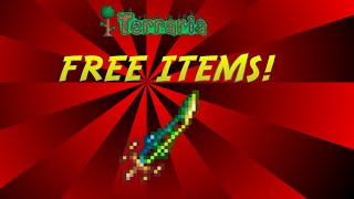 getlinkyoutube.com-Terraria | HOW TO GET FREE ITEMS | NO HACKS OR CHEATS