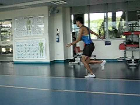 Plyometrics training - Bounding 1