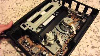 getlinkyoutube.com-Repairing a Sharp videocassette recorder (stuck tape)