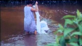 Washing clothes in the River, Brazil, 1960's - Film 90364
