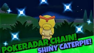 getlinkyoutube.com-EPIC SHINY CATERPIE REACTION! 40 POKERADAR CHAIN POKEMON XY | SHINY POKEMON HIGHLIGHT