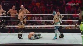 getlinkyoutube.com-The Lucha Dragons & Big E, Kofi Kingston vs. Cesaro & Kidd, The Ascension: RAW, LuchadorWWE.TV