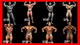 getlinkyoutube.com-Mr. Olympia All Winners Compilation for all time [1965 - 2016] - Bodybuilding Motivation History