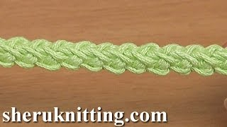 How to Make Crochet I-Cord Tutorial 109