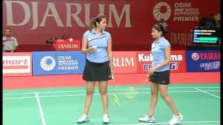 getlinkyoutube.com-R16 - WD - M. Jauhari / G. Polii vs. Jwala Gutta/Ashwini Ponnappa - 2011 Djarum Indonesia Open