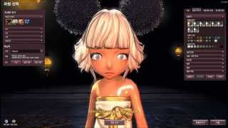 getlinkyoutube.com-Blade and Soul - Female Lyn Character Creation