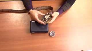 getlinkyoutube.com-Сигнальный револьвер Rohm Little Joe в пряжке