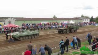 Tatra 813 gegen Panzer BMP Trecker Treck Tractor Pulling