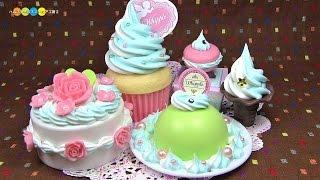 getlinkyoutube.com-【Whipple Craft 'n Fun Creme!】Mint×Milk Sweets Set ホイップる ミント×ミルクスイーツセット