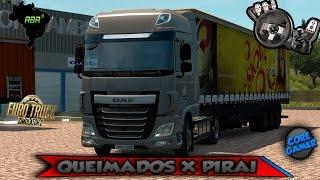 getlinkyoutube.com-Euro Truck Simulator 2 - Queimados x Pirai Mapa RBR 1.9.6.3 FUL ► Logitech G27