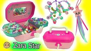 getlinkyoutube.com-Shopkins Jewelry Box 18 Exclusive Shopkins Charms + Season 6 Zara Star + Crystal Surprise