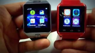 getlinkyoutube.com-DZ09 versión 2.1 con Whatsapp VS U8 ¿Cual es el mejor? 2016