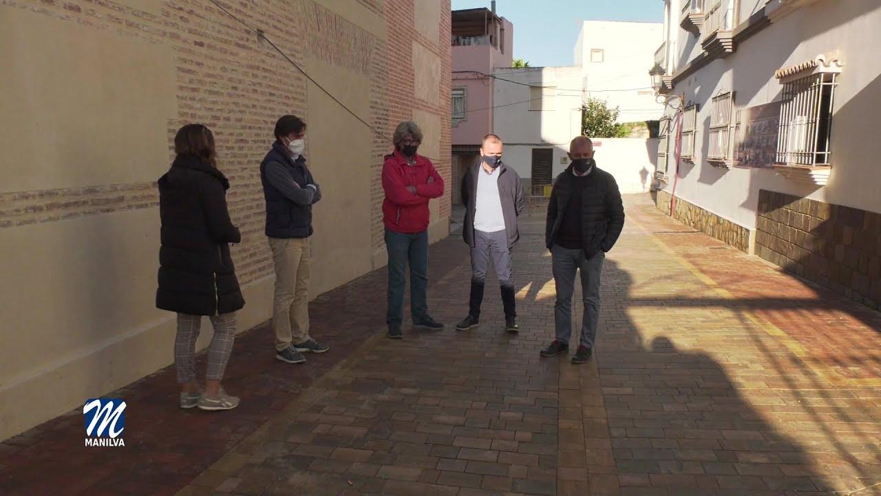 Finaliza los trabajos en la calle Muro Aguilar