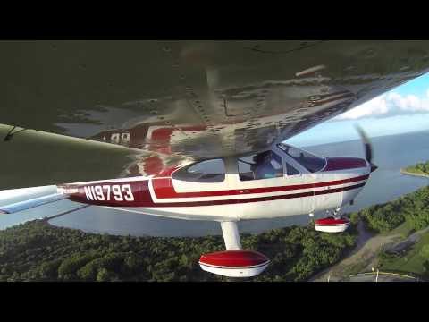 Cessna Cardinal Landing Vieques