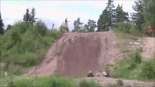 getlinkyoutube.com-Motocross and Helmet Cam Dirt Bike Crash Fail Compilation 2014