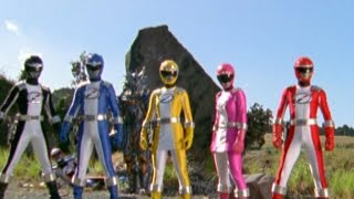 getlinkyoutube.com-Power Rangers Operation Overdrive - Power Rangers vs Evil Power Rangers
