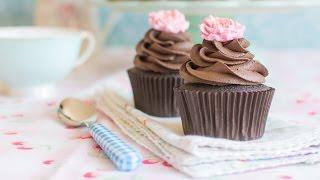getlinkyoutube.com-Cupcakes de chocolate - Receta - María Lunarillos | tienda & blog