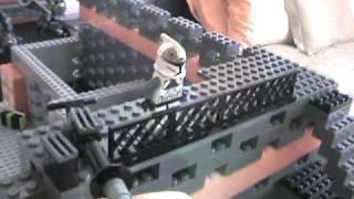 getlinkyoutube.com-Lego Star Wars Clone Base - TexasLegoBoy
