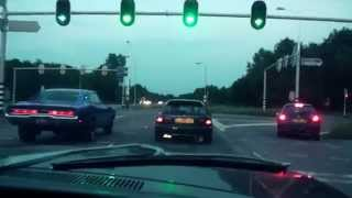 getlinkyoutube.com-Dodge Charger vs. Tuned 2.2 V-Tec Honda Civic