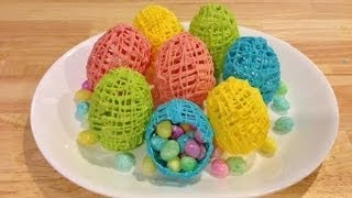 getlinkyoutube.com-Make Fancy Hollow Chocolate Easter Eggs