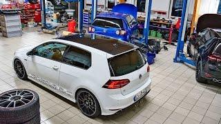 getlinkyoutube.com-Update: HGP Golf 7 R 2.0 TSI - Stage 4: 480 PS (0-100 km/h - 3,2 Sek.) - Martin Gräf zeigt den Umbau