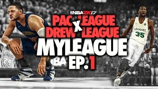 NBA 2K17 - The PAC League x Drew League: Ep.1 | The Showcase! + CRAZY PLAYOFFS UPSETS!!
