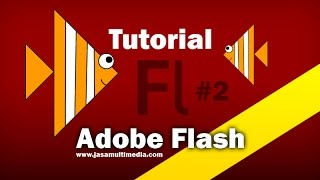 #tutorial 2 Adobe Flash: Membuat object ikan sederhana