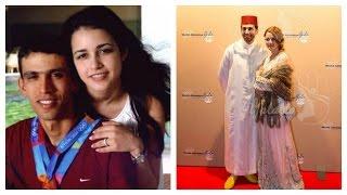 getlinkyoutube.com-صور العداء المغربي العالمي هشام الكروج مع زوجته صور حصرية تراها لأول مرة !!!!