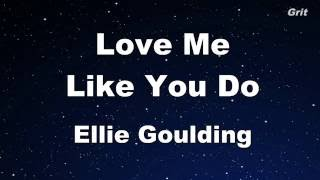 getlinkyoutube.com-Love Me Like You Do - Ellie Goulding Karaoke 【With Guide Melody】 Instrumental
