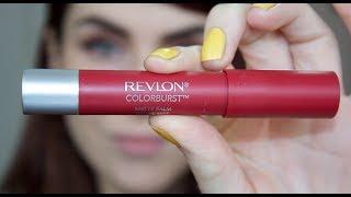 getlinkyoutube.com-Revlon ColorBurst Matte Balm; First Impressions & Demo!!! (Standout)