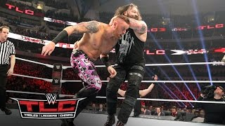 getlinkyoutube.com-Heath Slater fights to survive against Bray Wyatt & Randy Orton: WWE TLC 2016 on WWE Network