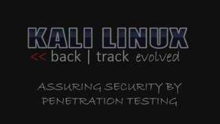 getlinkyoutube.com-Kali Linux - Backtrack Evolved: Professional Video Training