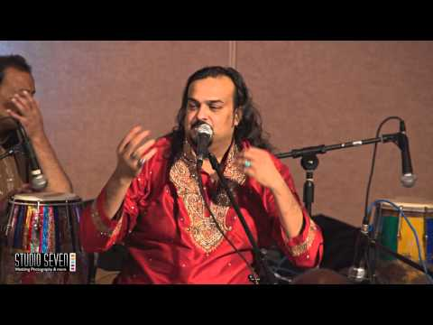 Amjad Sabri Qawal in Chicago Nov 23, 2013 Part 3