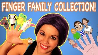 Finger Family & More Nursery Rhymes | Animal Finger Family Songs