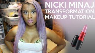 getlinkyoutube.com-Nicki Minaj Transformation Makeup Tutorial | OffbeatLook