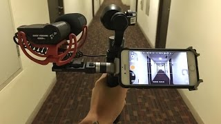 getlinkyoutube.com-testing DJI Osmo Audio zoom h1 rode rycote